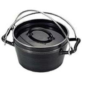 UNIFLAME(ユニフレーム) ダッチオーブン6インチスーパーディープ 661055アウトドアギア バーべキュー クッキング クッキング用品 ダッチオーブン ブラック
