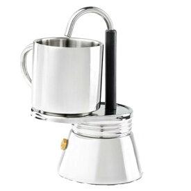GSI(ジーエスアイ) GSI ステンレスミニエスプレッソメーカーセット/ 1CUP 11872019ケトル やかん 製菓道具 コーヒー用品 コーヒー用品 アウトドアギア