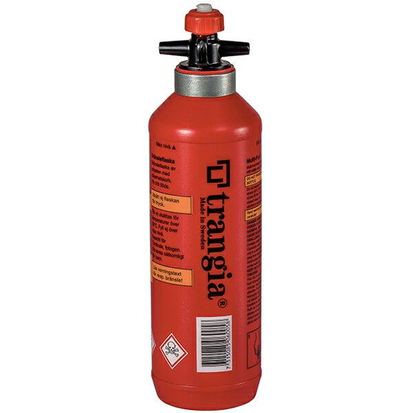 ★エントリーでポイント10倍!Trangia(トランギア) 燃料ボトル0.5L TR-506005レッド 燃料 アウトドア アウトドア 燃料タンク 燃料タンク アウトドアギア