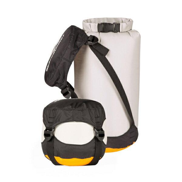 SEA TO SUMMIT(シートゥーサミット) コンプレッション ドライサック/グレー/XS ST83366グレー バッグ アウトドア アウトドア 防水バッグ・マップケース ドライバッグ アウトドアギア