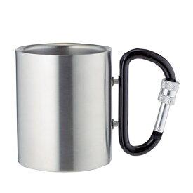 MOCHIZUKI(モチヅキ) カラビナカップ ロック付/ブラック/240ml 10706ブラック カップ キャンプ用食器 アウトドア テーブルウェア テーブルウェア(カップ) アウトドアギア