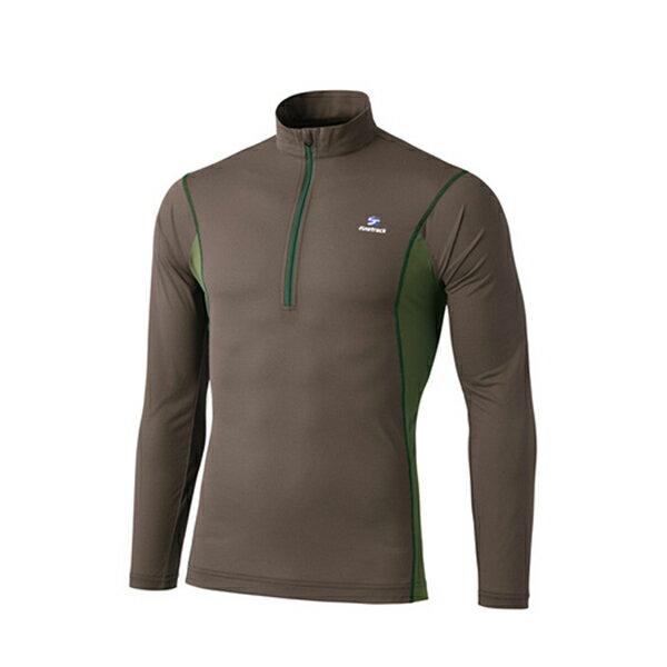 finetrack(ファイントラック) ドラウトエアジップネック Ms CA XL FMM0411男性用 ブラウン カジュアルシャツ トップス メンズファッション 長袖シャツ 長袖シャツ男性用 アウトドアウェア