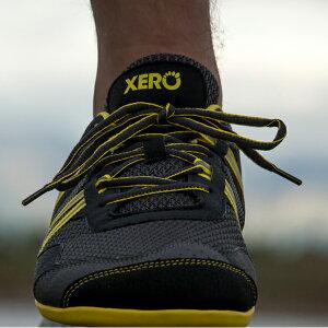 XEROSHOES(ゼロシューズ) プリオメンズ/トゥルーイエロー/M9.5 PRM-BKYLアウトドアギア スニーカー・ランニング アウトドアスポーツシューズ トレッキング 靴 ブーツ イエロー 男性用 おうちキャ