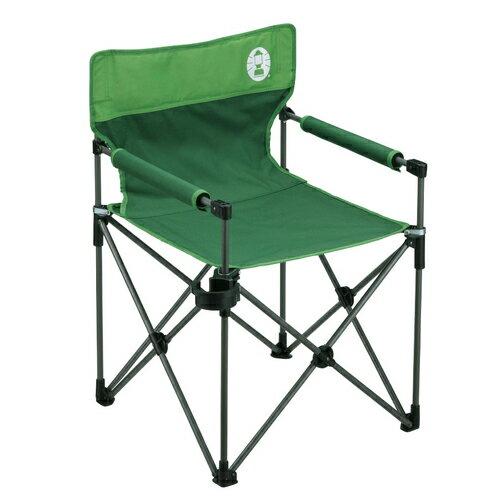 Coleman(コールマン) カップホルダーツキスリムチェアST(グリーン) 2000010512グリーン イス レジャーシート テーブル チェア フォールディングチェア アウトドアギア