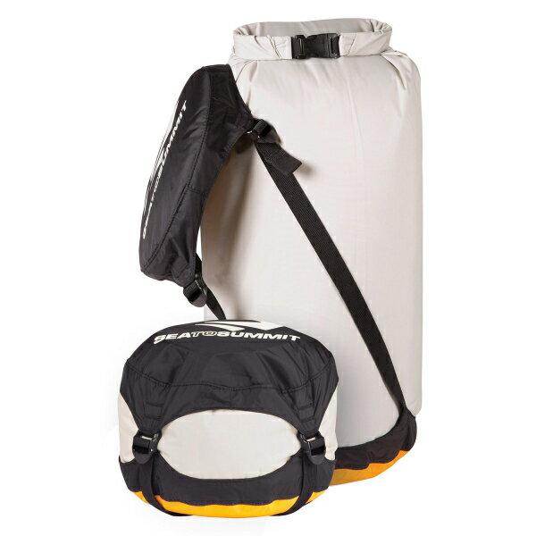 SEA TO SUMMIT(シートゥーサミット) コンプレッション ドライサック/グレー/L ST83369グレー バッグ アウトドア アウトドア 防水バッグ・マップケース ドライバッグ アウトドアギア