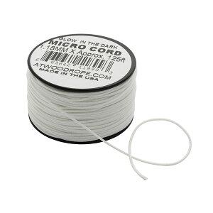 Atwoodrope(アトウッドロープ) マイクロコード/ウーバーグロー 44009アウトドアギア ロープ、自在金具 ハンマー・ペグ・ロープ等 タープ テントアクセサリー グレー おうちキャンプ ベランピン