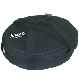 SOTO(ソト 新富士バーナー) ダッチオーブン収納ケース10 HALF ST-910HFCS-6ダッチオーブン クッキング用品 バーべキュー アウトドアギア