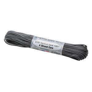 Atwoodrope(アトウッドロープ) タクティカルコード/グラファイト 44010アウトドアギア ロープ、自在金具 ハンマー・ペグ・ロープ等 タープ テントアクセサリー グレー おうちキャンプ ベランピ