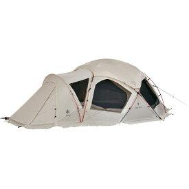 snow peak(スノーピーク) ドックドーム Pro.6 アイボリー SD-507IV六人用(6人用) テント タープ キャンプ用テント キャンプ大型 アウトドアギア