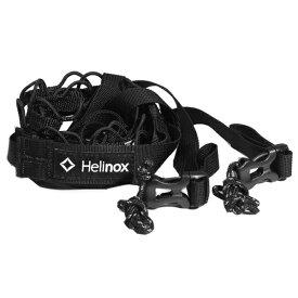★エントリーでポイント10倍!Helinox(ヘリノックス) デイジーチェーン 2.5-4.0 /ブラック 19759027アウトドアギア ロープ、自在金具 ハンマー・ペグ・ロープ等 タープ テントアクセサリー ブラック