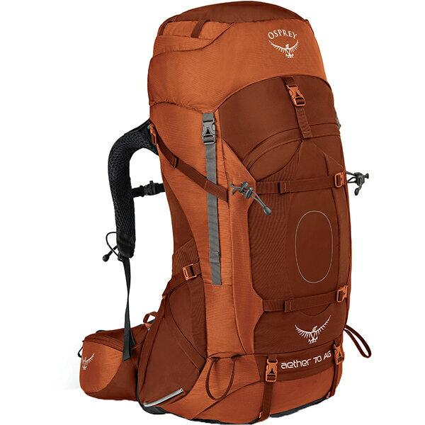 OSPREY(オスプレー) イーサーAG 70/アウトバックオレンジ/S OS50061オレンジ リュック バックパック バッグ トレッキングパック トレッキング70 アウトドアギア