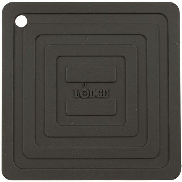 LODGE(ロッジ) [正規品]LDG シリコンスクエアポットホルダーBK AS6S11 19240094ブラック ダッチオーブン クッキング用品 バーべキュー アウトドアギア