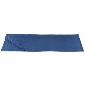 ISUKA(イスカ) シルクシーツ レクタ/ネイビーブルー 212121アウトドアギア スリーピングバッグカバー アウトドア用寝具 シュラフカバー ブルー おうちキャンプ ベランピング