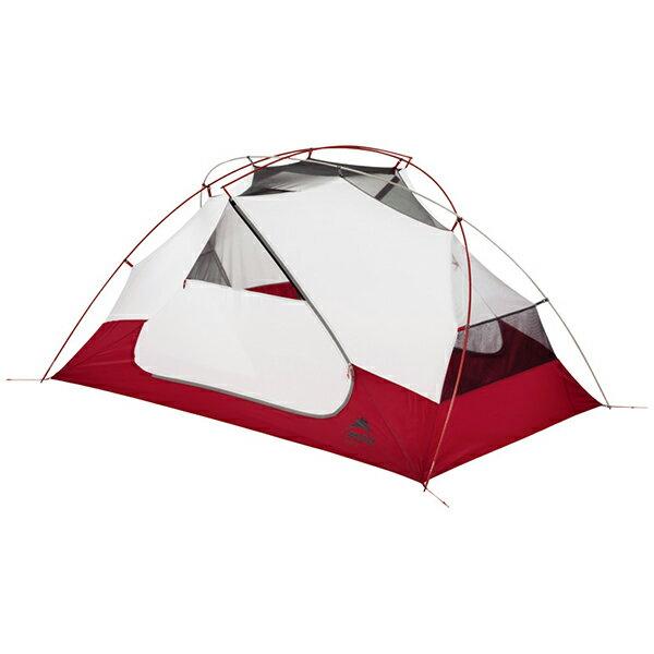 MSR(エムエスアール) エリクサー2 37411レッド 二人用(2人用) テント タープ ツーリング用テント ツーリング用テント アウトドアギア