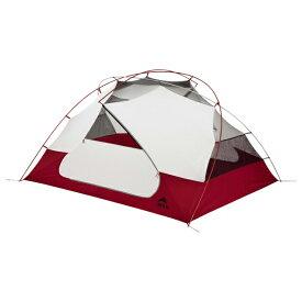 MSR(エムエスアール) エリクサー3 37312レッド 三人用(3人用) スリーシーズンタイプ(三期用) テント タープ キャンプ用テント キャンプ3 アウトドアギア