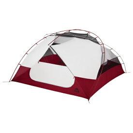 MSR(エムエスアール) エリクサー4 37313レッド 四人用(4人用) テント タープ キャンプ用テント キャンプ4 アウトドアギア