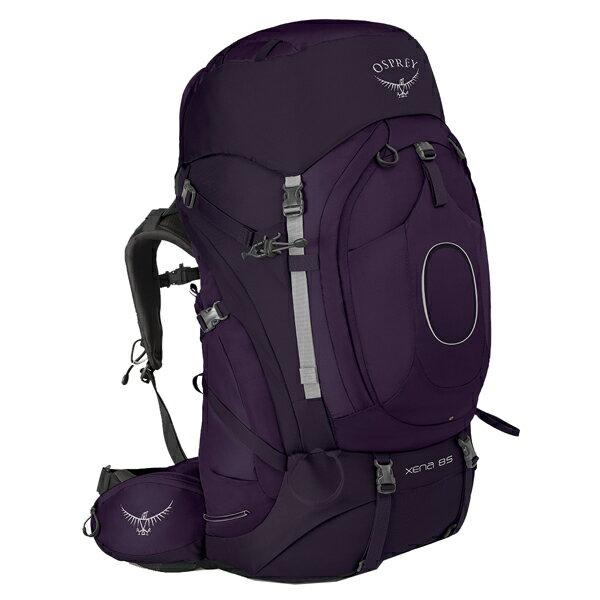 OSPREY(オスプレー) ゼナ 85/クラウンパープル/S OS50021女性用 パープル リュック バックパック バッグ トレッキングパック トレッキング大型 アウトドアギア