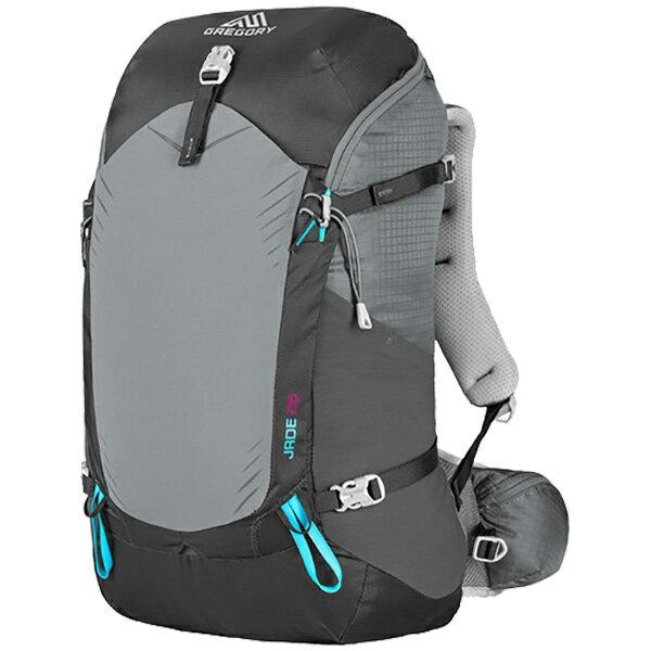 GREGORY(グレゴリー) ジェイド28/ダークチャコール/M 68425女性用 グレー リュック バックパック バッグ トレッキングパック トレッキング20 アウトドアギア