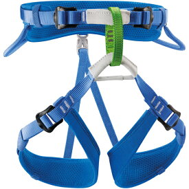 PETZL(ペツル) マチュ ブルー C015AA00アウトドアギア 登山 トレッキング ハーネス ブルー 子供用 おうちキャンプ