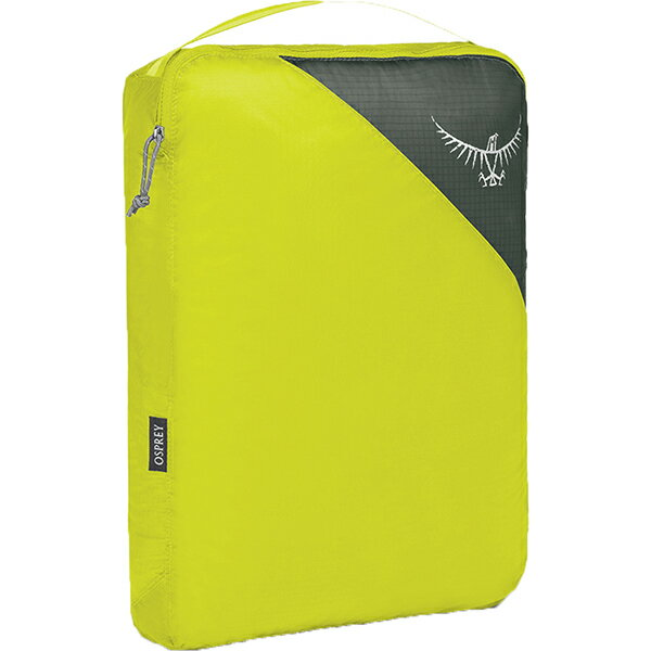 OSPREY(オスプレー) ULパッキングキューブ L/エレクトリックライム/ワンサイズ OS58812グリーン 衣類収納ボックス 収納用品 生活雑貨 ポーチ、小物バッグ ポーチ、小物バッグ アウトドアギア