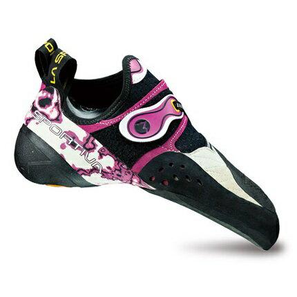 LA SPORTIVA(ラ・スポルティバ) ソリューションW/35.5 CL10Jパープル ブーツ 靴 トレッキング トレッキングシューズ クライミング用女性用 アウトドアギア