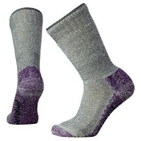 SmartWool(スマートウール) Ws マウンテニアリング/ミディアムグレー/マウンテンパープル/M SW71236002005アウトドアウェア 女性用ソックス ソックス レディースウェア 靴下 グレー 女性用 おうちキャンプ ベランピング