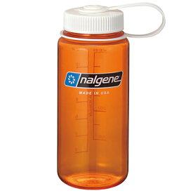 ★エントリーでポイント10倍!NALGENE(ナルゲン) 広口0.5LTritanオレンジ 91304アウトドアギア 樹脂製ボトル 水筒 マグボトル オレンジ