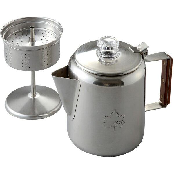 OUTDOOR LOGOS(ロゴス) LOGOS ステンレスパーコレーター 81210300ケトル やかん 製菓道具 コーヒー用品 コーヒー用品 アウトドアギア