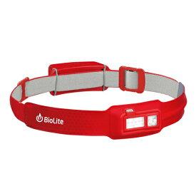 BioLite(バイオライト) バイオライト/ヘッドランプ/RD 1824251アウトドアギア LEDタイプ ランタン ヘッドライト レッド おうちキャンプ