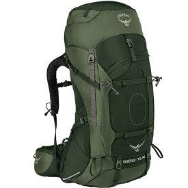 OSPREY(オスプレー) イーサーAG 70/アディロンダックグリーン/S OS50061001004アウトドアギア トレッキング70 トレッキングパック バッグ バックパック リュック グリーン 男性用 おうちキャンプ ベランピング