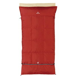 snow peak(スノーピーク) セパレートオフトンワイド 1400 BDD-104レッド シュラフ 寝袋 アウトドア用寝具 封筒型 封筒ウインター アウトドアギア