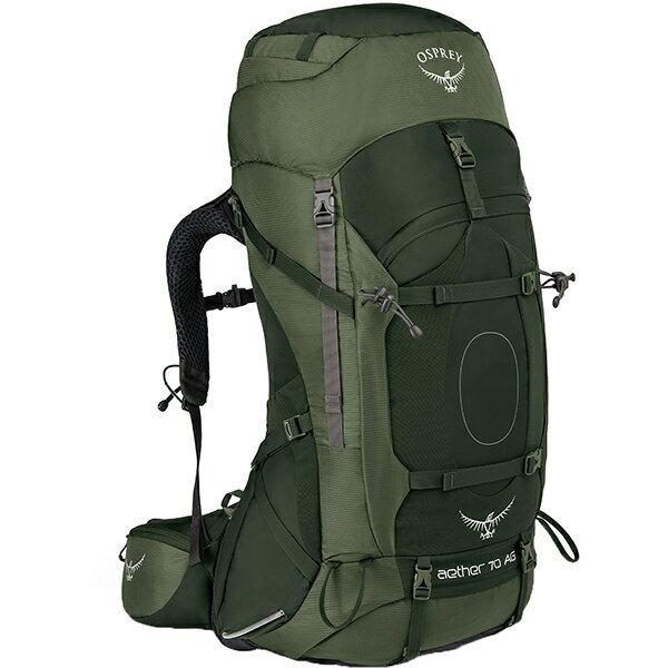 OSPREY(オスプレー) イーサーAG 70/アディロンダックグリーン/M OS50061グリーン リュック バックパック バッグ トレッキングパック トレッキング70 アウトドアギア