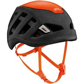 PETZL(ペツル) シロッコ ブラック オレンジ M/L A073BA01ブラック ヘルメット トレッキング 登山 アウトドアギア