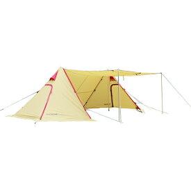 ogawa campal(小川キャンパル) ツインピルツ フォーク 3342アウトドアギア ヘキサ・ウイング型タープ テント おうちキャンプ