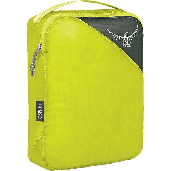 OSPREY(オスプレー) ULパッキングキューブ M/エレクトリックライム/ワンサイズ OS58811グリーン 衣類収納ボックス 収納用品 生活雑貨 ポーチ、小物バッグ ポーチ、小物バッグ アウトドアギア