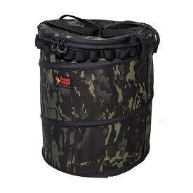 Oregonian Camper(オレゴニアンキャンパー) ポップアップトラッシュボックスR/Black×Camo OCB-708Rブラック クッキング用品 バーべキュー アウトドア ダストボックス ダストボックス アウトドアギア