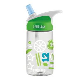 CAMELBAK(キャメルバック) CM.エディキッズボトル0.4L/SPTJM 1821650アウトドアギア 樹脂製ボトル 水筒 マグボトル グリーン 子供用 おうちキャンプ ベランピング
