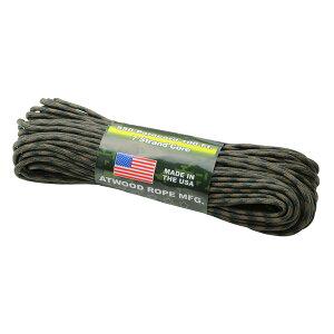 Atwoodrope(アトウッドロープ) パラコード/ウッドランド 44022アウトドアギア ロープ、自在金具 ハンマー・ペグ・ロープ等 タープ テントアクセサリー カモフラージュ おうちキャンプ ベランピ