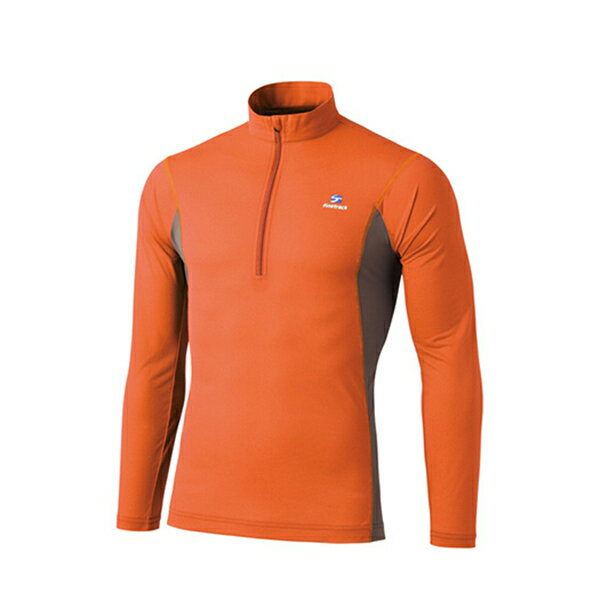 finetrack(ファイントラック) ドラウトエアジップネック Ms RS XL FMM0411男性用 オレンジ カジュアルシャツ トップス メンズファッション 長袖シャツ 長袖シャツ男性用 アウトドアウェア