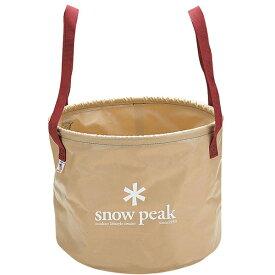 snow peak(スノーピーク) ジャンボキャンプシンク FP-150ベージュ バッグ アウトドア アウトドア バケツ バケツ アウトドアギア