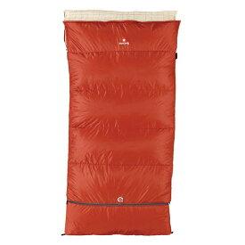snow peak(スノーピーク) セパレートシュラフ オフトンワイド LX BD-104レッド シュラフ 寝袋 アウトドア用寝具 封筒型 封筒スリーシーズン アウトドアギア