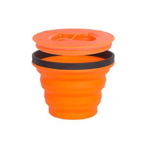 SEA TO SUMMIT(シートゥーサミット) X-シール & ゴー/オレンジ/S ST84001アウトドアギア フードコンテナ 水筒 弁当箱 オレンジ おうちキャンプ ベランピング