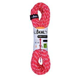 BEAL(ベアール) 8.6mm コブラ2 ユニコア 50m/オレンジ BE11028オレンジ アウトドア アウトドア スポーツ ロープ ダブルロープ アウトドアギア