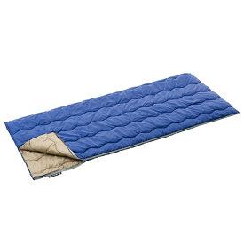 OUTDOOR LOGOS(ロゴス) 丸洗い寝袋ロジー・15(既存品) 72600600ブルー シュラフ 寝袋 アウトドア用寝具 封筒型 封筒スリーシーズン アウトドアギア