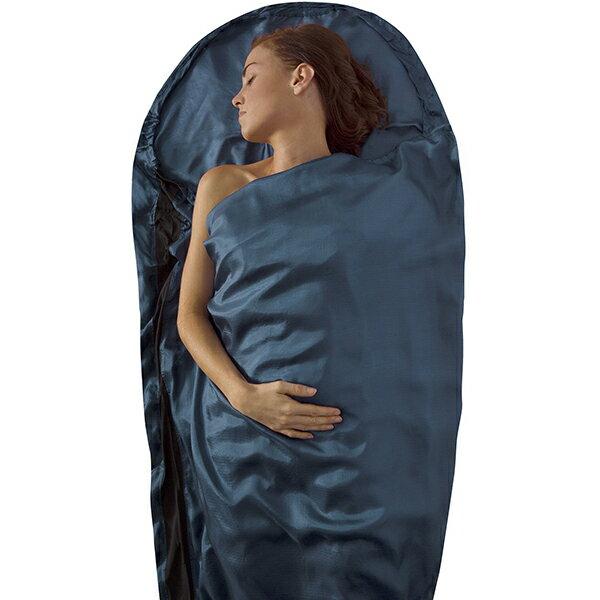 SEA TO SUMMIT(シートゥーサミット) シルクライナー/パシフィックブルー/マミーウィズフード ST81423男女兼用 ブルー 一人用(1人用) オールシーズンタイプ インナーシーツ アウトドア用寝具 アウトドア スリーピングバッグインナー アウトドアギア