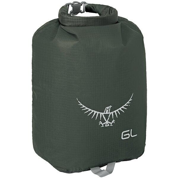 OSPREY(オスプレー) ULドライサック 6/シャドーグレー OS58603グレー ダイビングバッグ シュノーケリング ダイビング 防水バッグ・マップケース ドライバッグ アウトドアギア
