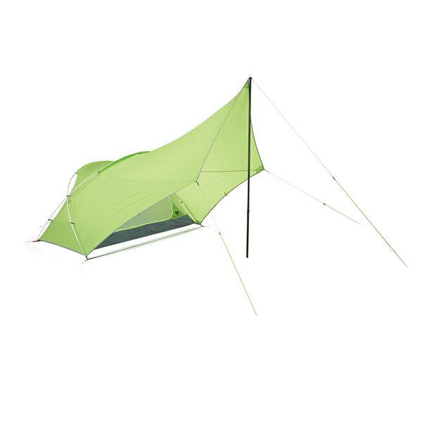 ★エントリーでポイント5倍!NEMO(ニーモ・イクイップメント) フロントポーチ 2P NM-FTP-2Pグリーン 二人用(2人用) テント タープ キャンプ用テント キャンプ2 アウトドアギア