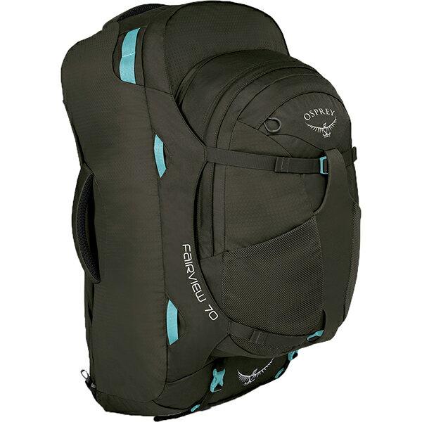 OSPREY(オスプレー) フェアビュー70/ミスティーグレー/ワンサイズ OS55150女性用 グレー リュック バックパック バッグ トレッキングパック トレッキング70 アウトドアギア