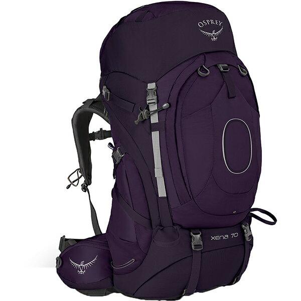 OSPREY(オスプレー) ゼナ 70/クラウンパープル/S OS50022女性用 パープル リュック バックパック バッグ トレッキングパック トレッキング70 アウトドアギア