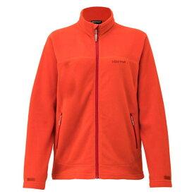 Marmot(マーモット) WSPOLARTECMICROJA/BOR/M TOWMJL40女性用 オレンジ アウター レディースウェア ウェア フリースジャケット フリースジャケット女性用 アウトドアウェア